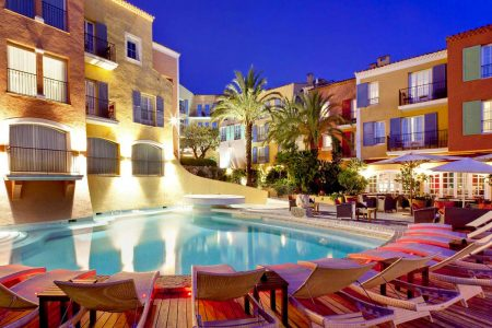 photo hotel byblos st tropez