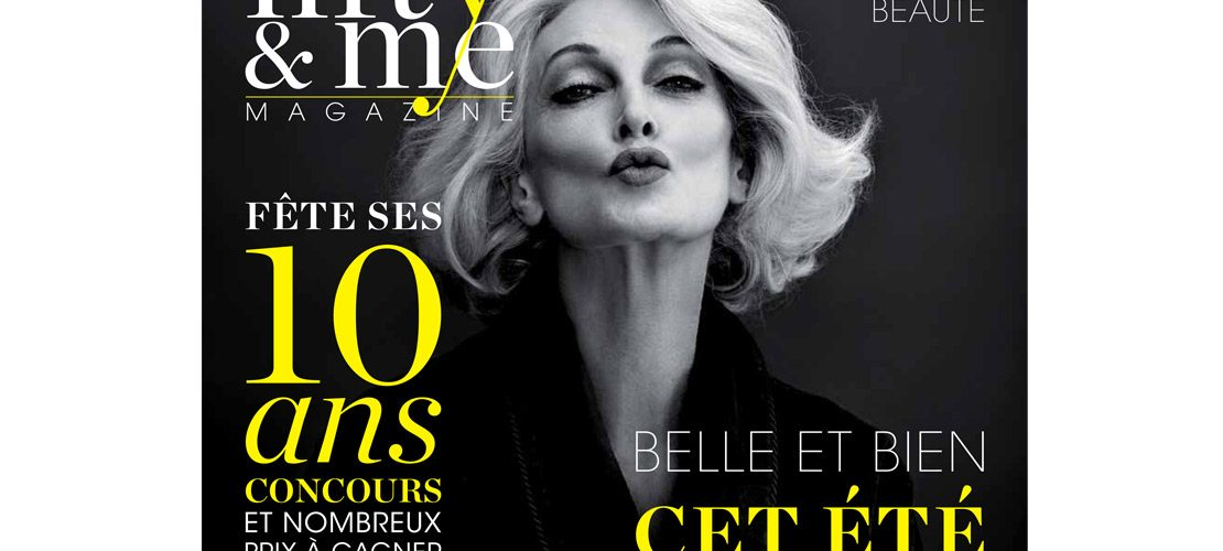 photo cover fifty&me magazine