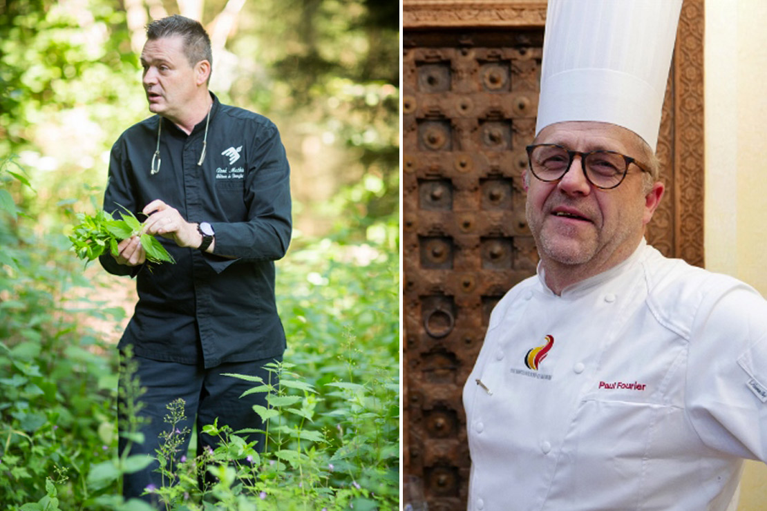 Un diner 4 mains royal luxembourg fifty me magazine - Chef de cuisine luxembourg ...
