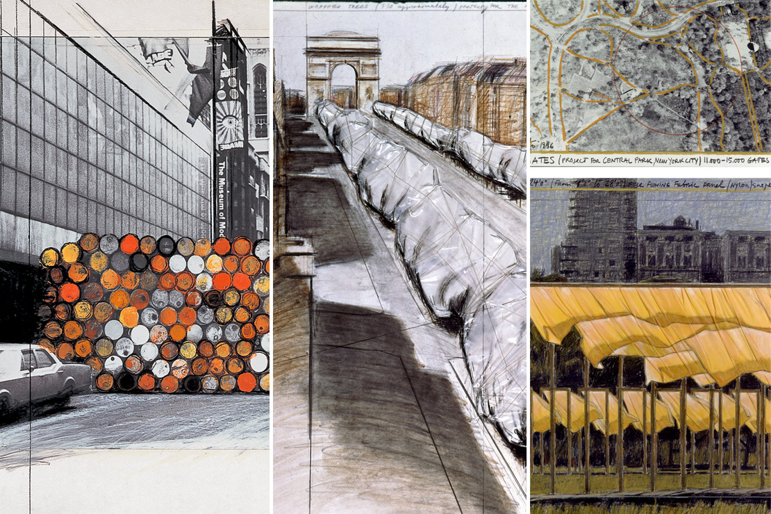 Remportez vos places pour assister à l'exposition « Christo and Jeanne-Claude. Urban Projects »