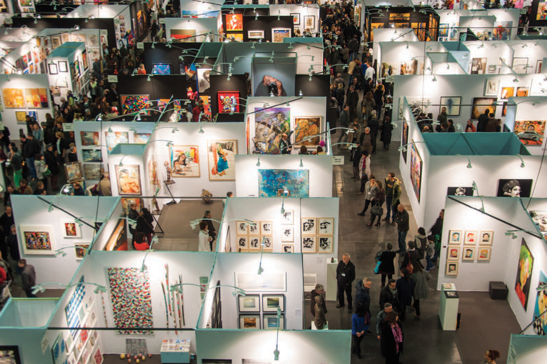 Le Salon International d'Art Contemporain revient à Bruxelles