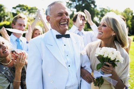 photo couple senior remariage