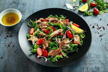 Recette salade maquereau