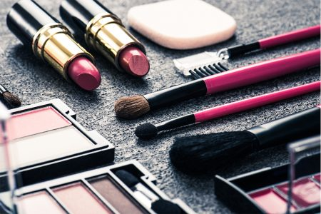 photo maquillage pinceaux