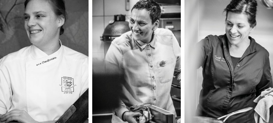 Photo chefs feminins belges