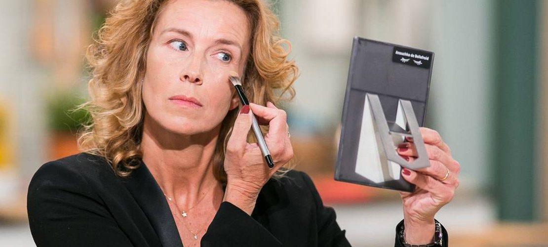 anouchka de bellefroid, Comment densifier le regard, 50 ans, tuto maquillage