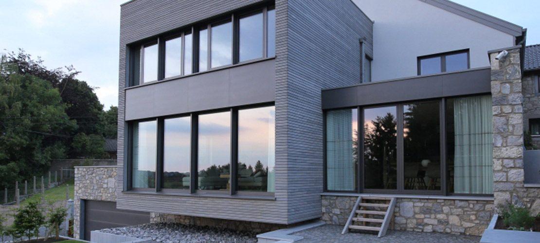 photo maison et architecte