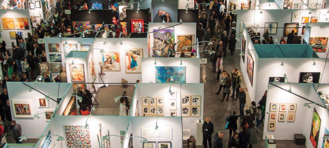 photo salon d'art contemporain bxls