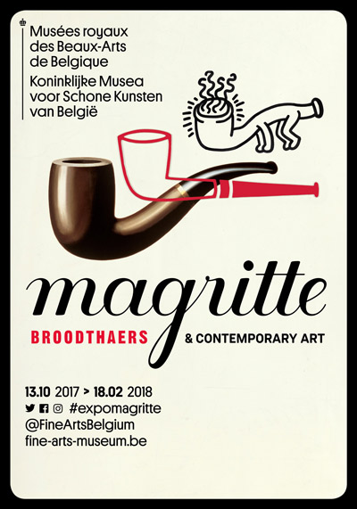 photo affiche exposition magritte