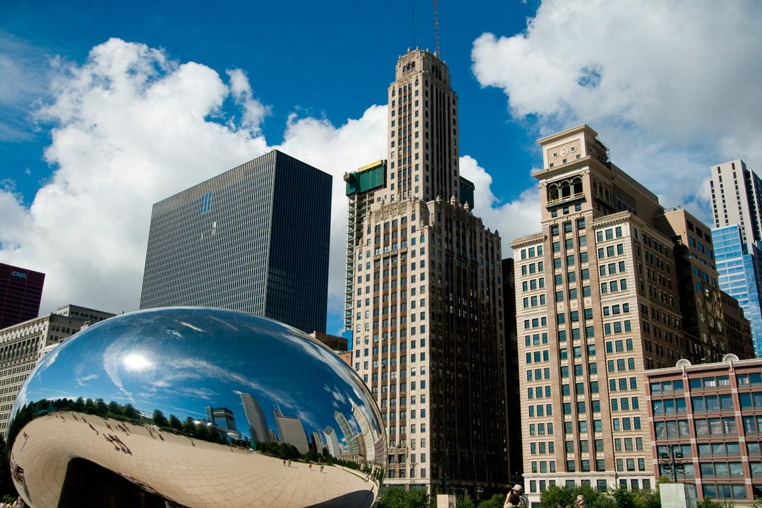 photo millenium park chicago