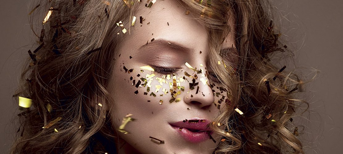 maquillage festif, 50 ans,