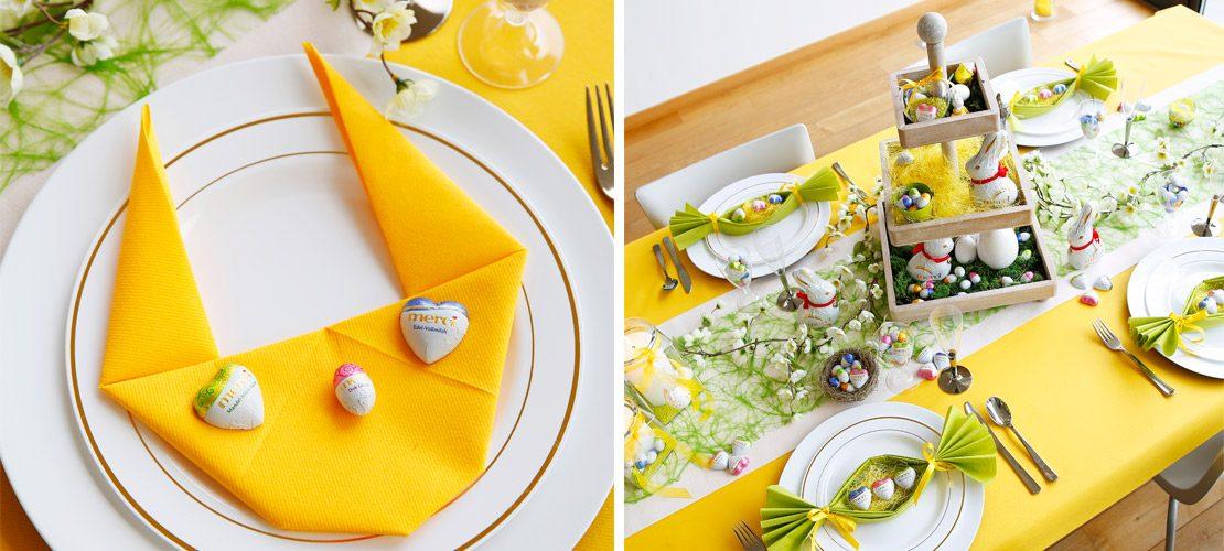 Décoration table Pâques 1