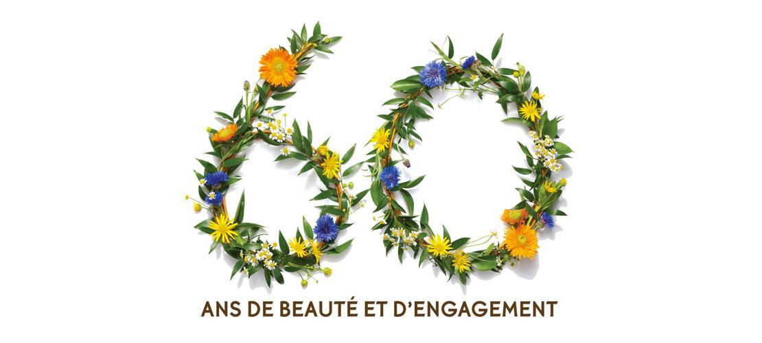 Gagnez un lot spécial 60 ans d'Yves Rocher !