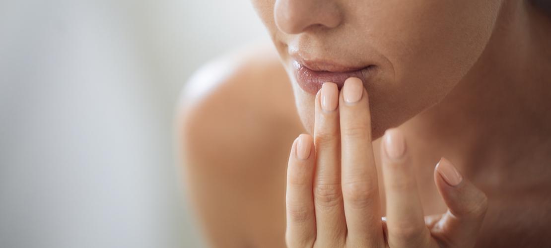 lèvres gercées