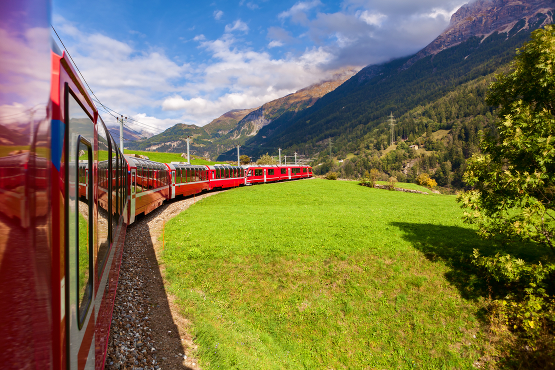 chemins de fer rhétiques