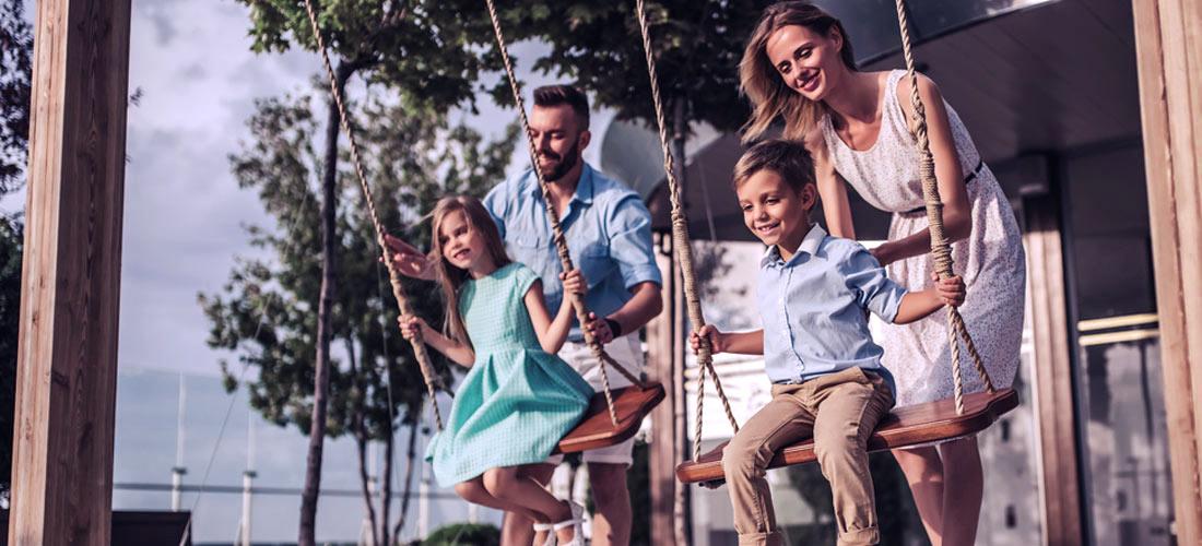 5x speeltuin met terras voor (groot)ouders