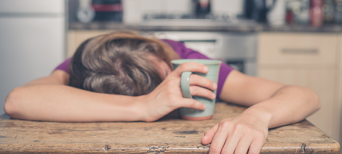 Genoeg geslapen, toch moe: dit is er aan de hand