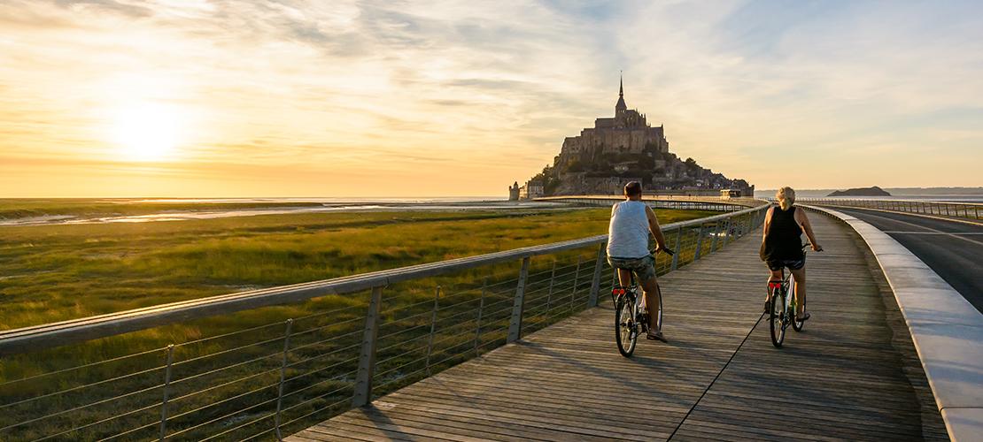 fietsroute Normandië