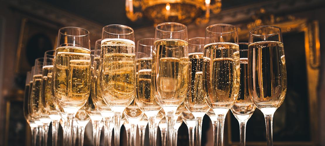 champagne bewaren