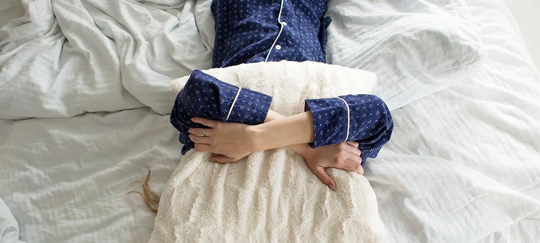 slapen voeten