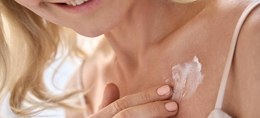 huid voorbereiden zon