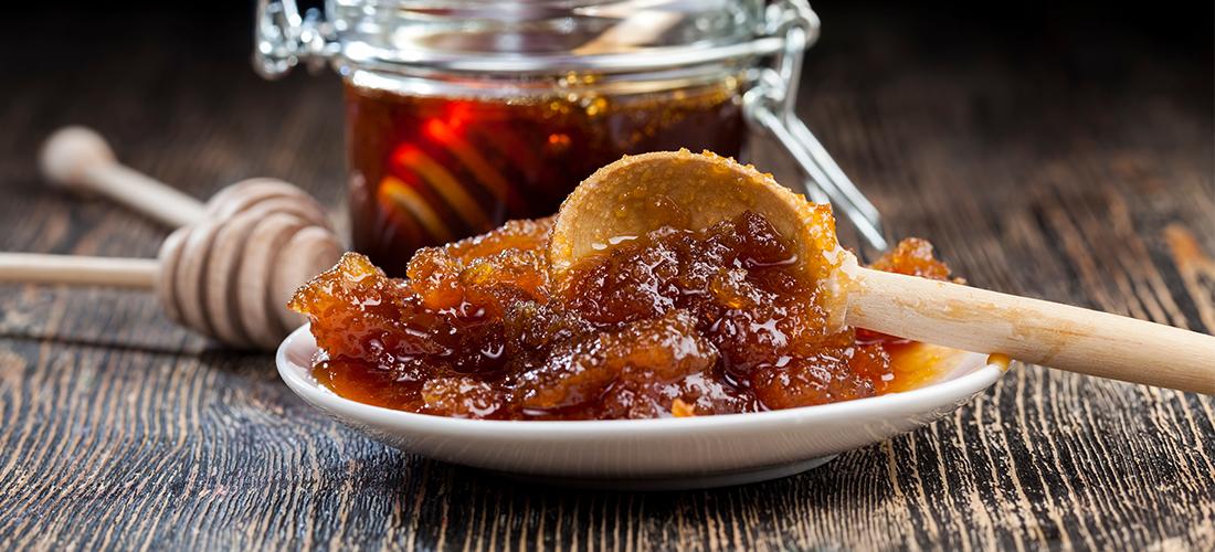 versuikerde honing